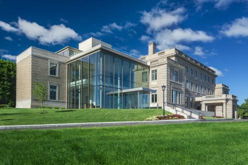 McMullen Museum, atrium and entrance