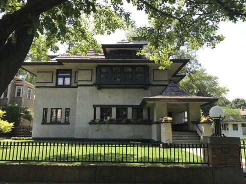 Edward R. Hills Decaro House, 1906, 1977 Oak Park (2)
