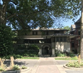Frank W. Thomas House, 1901, Oak Park (2)