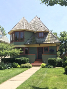 Thomas H. Gale House, 1892, Oak Park (1)